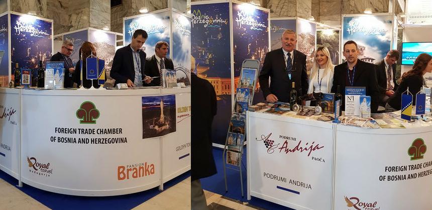 Vanjskotrgovinska komora BiH na 26. Međunarodnom sajmu Turizma TTWARSAW