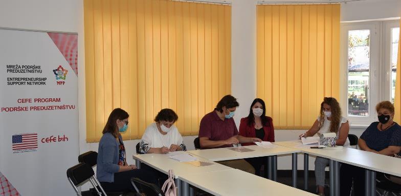 CEFE program poduzetničke podrške u gradu Visoko