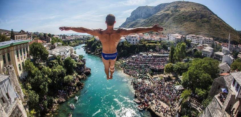 Red Bull Cliff Diving ponovo u Mostaru