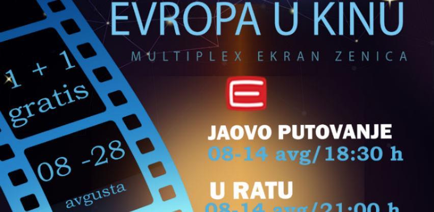 "Od 08. augusta revija evropskog filma u Mutliplexu ""Ekran"" Zenica"