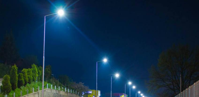 Postavljena LED rasvjeta u industrijskoj zoni Bukva