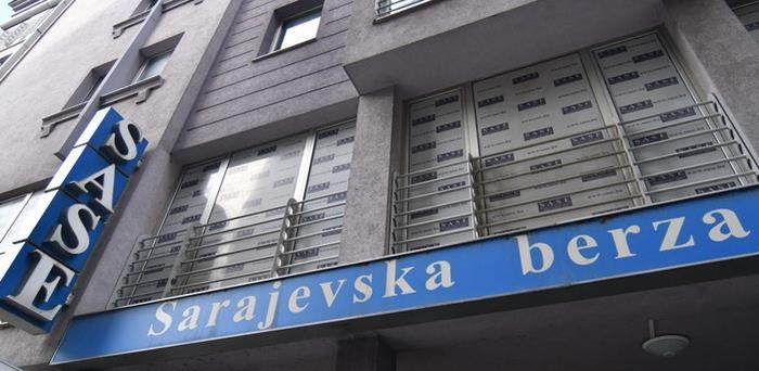 Ovosedmični promet na Sarajevskoj berzi 1.365.851,55 KM