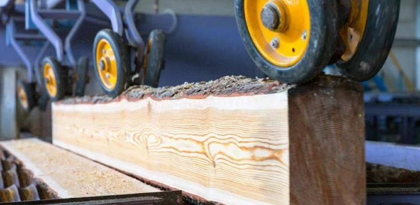 Izvoz drvnog sektora BiH u devet mjeseci prošle godine manji za 6,3 posto