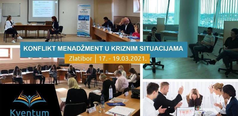 "Kventum organizuje seminar ""Konflikt menadžment"""