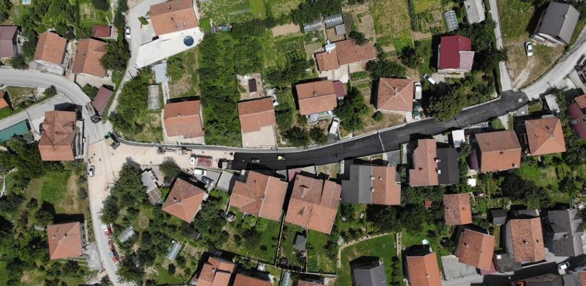 Završena rekonstrukcija i proširenje glavne ulice na Sokolju