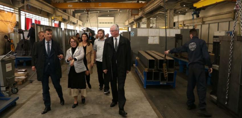 Novalić obišao preduzeća u Novom Travniku i Travniku
