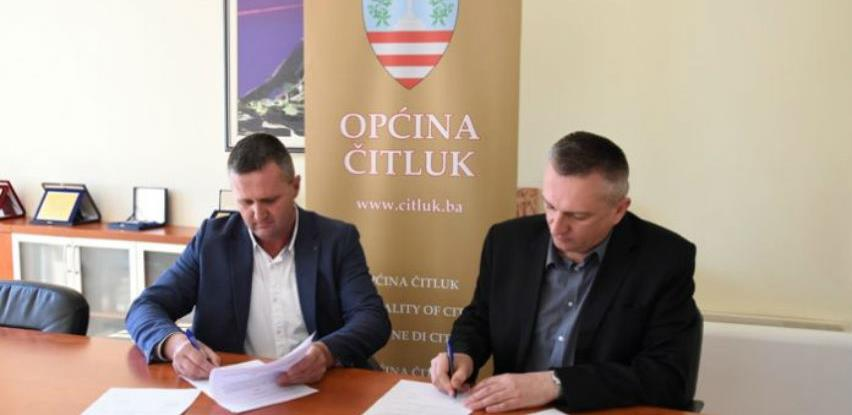 Potpisan ugovor za izgradnju sekundarne kanalizacijske mreže u Čitluku