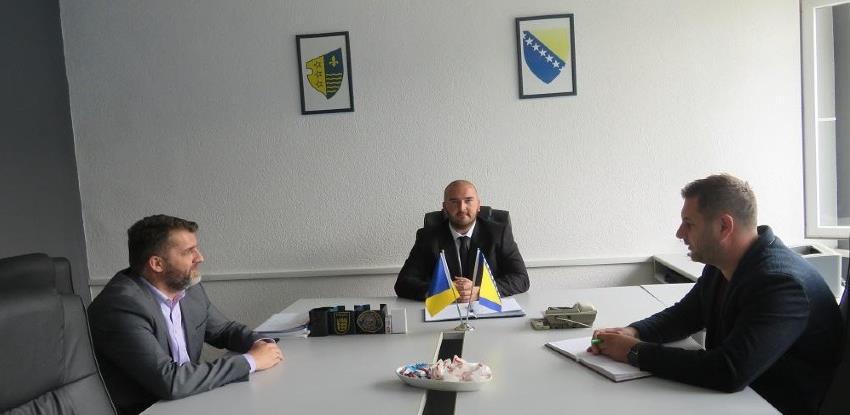Katica posjetio MUP BPK Goražde: Podržat ćemo prijem novih policajaca