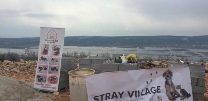 Počela gradnja skloništa za životinje 'Stray Village' kod Mostara