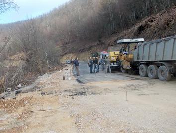 Općina Kreševo: Asfalt na novoj dionici ceste prema Tarčinu