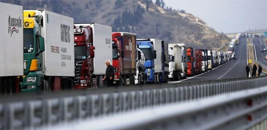 Špediteri u problemima, štete zbog zatvorenih graničnih prelaza