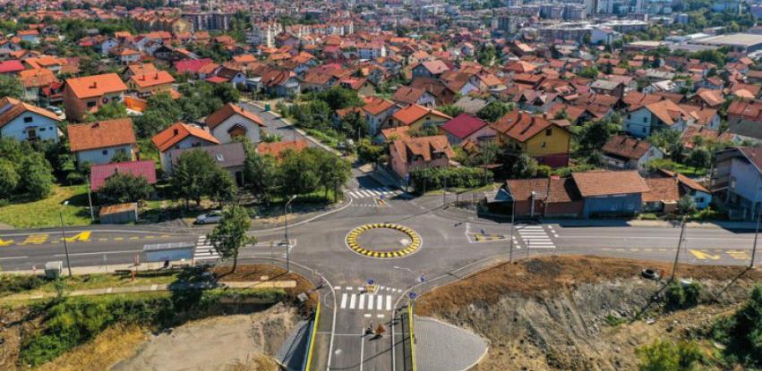 Izgrađen novi kružni tok u Banjaluci na putu prema UKC-u