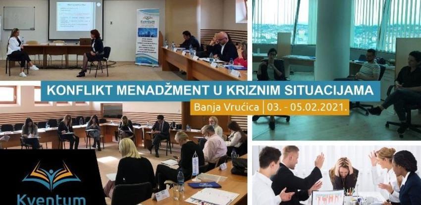 Kventum u Tesliću: Konflikt menadžment i upravljanje međuljudskim odnosima u kriznim situacijama