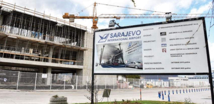Napreduju radovi na proširenju i modernizaciji sarajevskog aerodroma