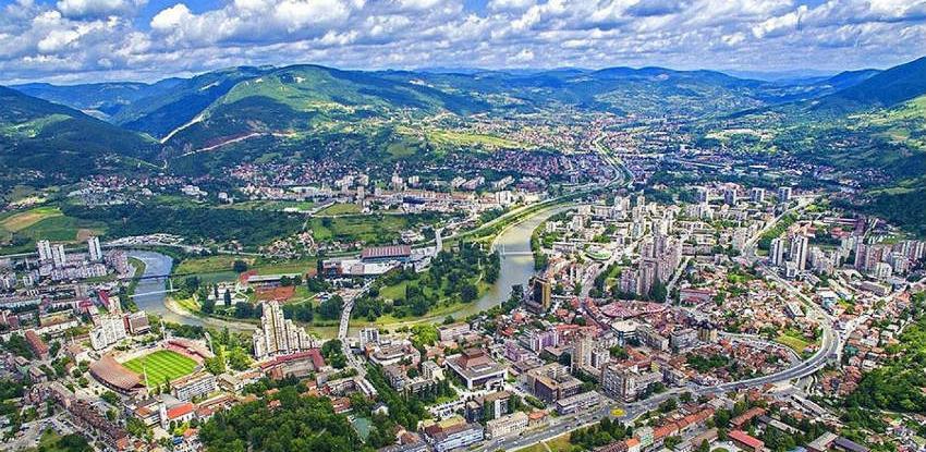 Odabrana idejna rješenja Centralne gradske zone u Zenici