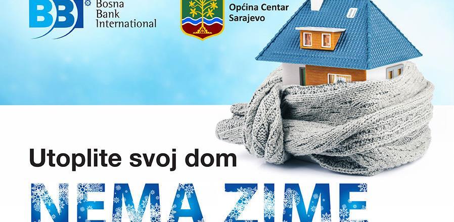 Objavljen poziv za subvencioniranu liniju Općine Centar za utopljavanje objekata