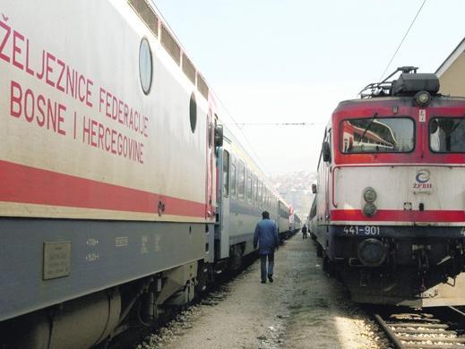 Osposobljen teretni željeznički saobraćaj na pruzi Sarajevo-Zenica