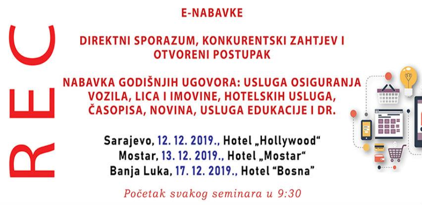 Seminar o korištenju informacionog sistema E-nabavke
