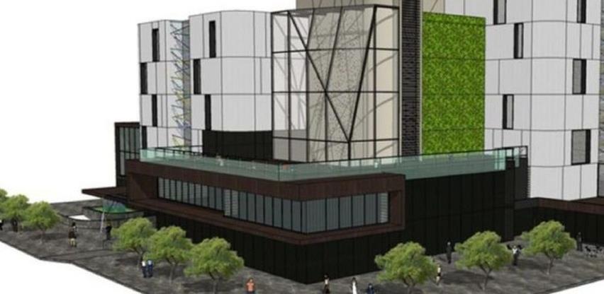 Nastavak izgradnje robne kuće Vema u Visokom: Restoran, 4D kino, ljetne bašte, poslovni prostori...