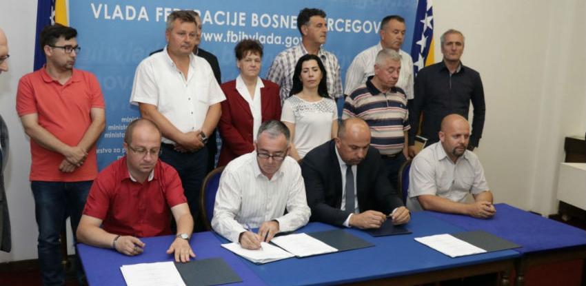 Potpisan Kolektivni ugovor za područje željezničkog saobraćaja u FBiH