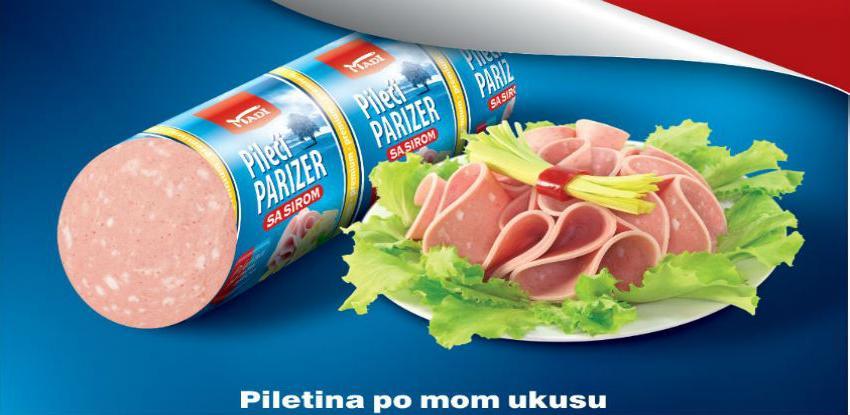 Pileći parizer sa sirom - Novi proizvod iz Madi premium linije