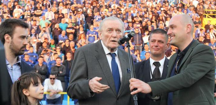 Ivica Osim otvorio istočnu tribinu stadiona Grbavica (VIDEO)