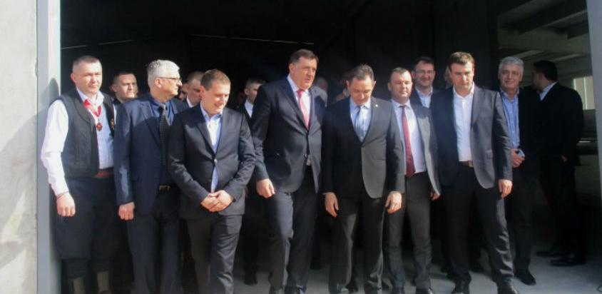 U Srebrenici otvoren vrtić i fabrika za proizvodnju kontejnera