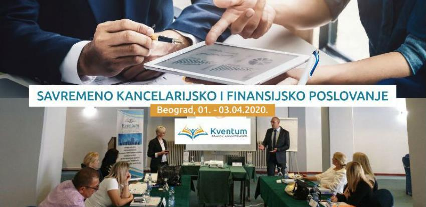 Kventum seminar u Beogradu: Savremeno kancelarijsko i finansijsko poslovanje