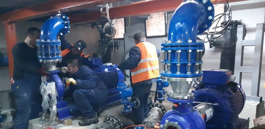 "Rekonstrukcija pumpne stanice ""Centar"""
