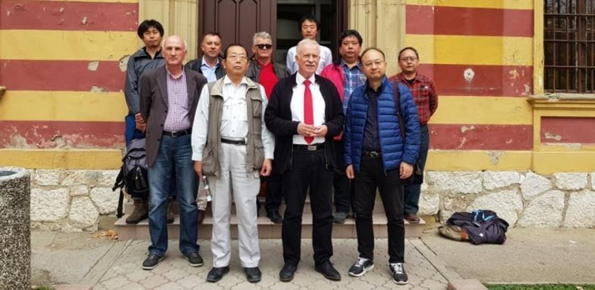 Eksperti iz Japana u posjeti Gračanici