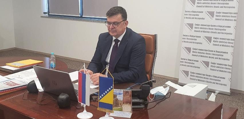 Tegeltija i rezidentna koordinatorka UN u BiH Makdonald o socioekonomskoj situaciji