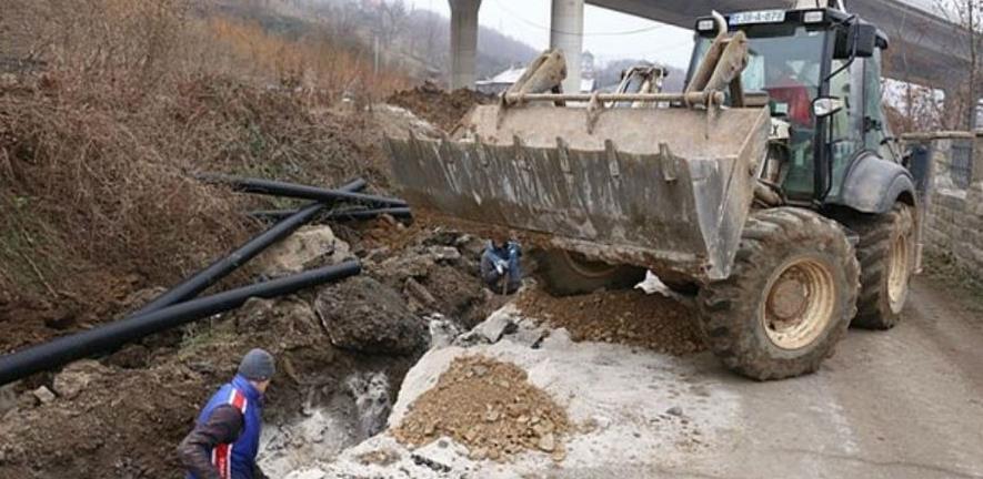 U zeničkoj MZ Perin Han počela izgradnja kanalizacije