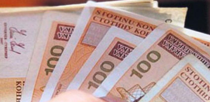 Prosječna mjesečna isplaćena neto plaća u BiH u junu iznosila 910 KM