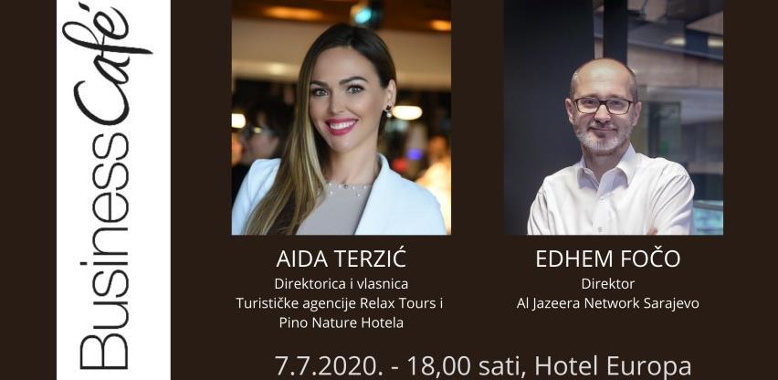 28. Business cafe u Sarajevu na OTVORENOM!!!