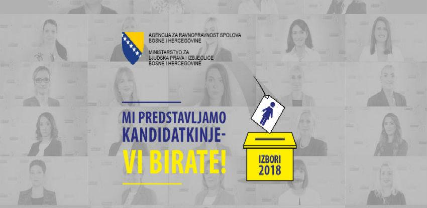 Početak kampanje 'Mi predstavljamo kandidatkinje – vi birate'
