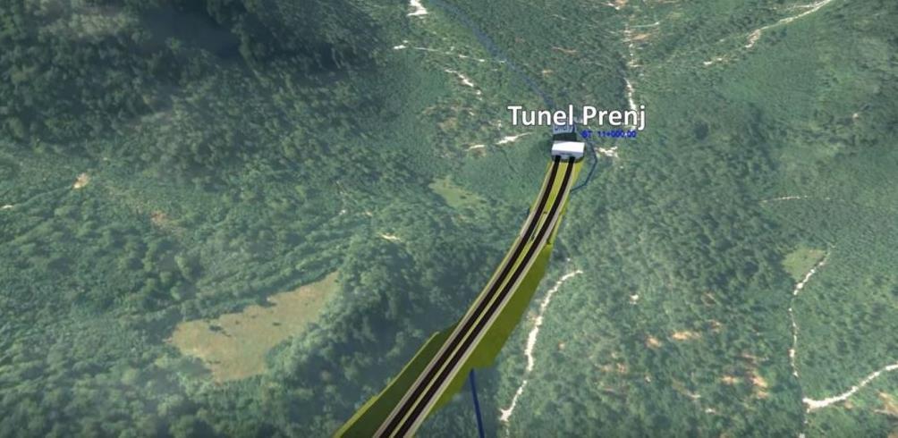 """Izgradnja """"Kralja"""" među tunelima počinje iduće godine i trajat će 6 godina"""