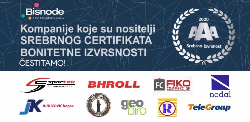 Kompanije koje posjeduju Bisnode certifikat dobijaju mnogo bolje komercijalne uslove