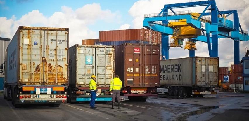 Trgovinski deficit FBiH u julu 2021. godine 546  miliona KM