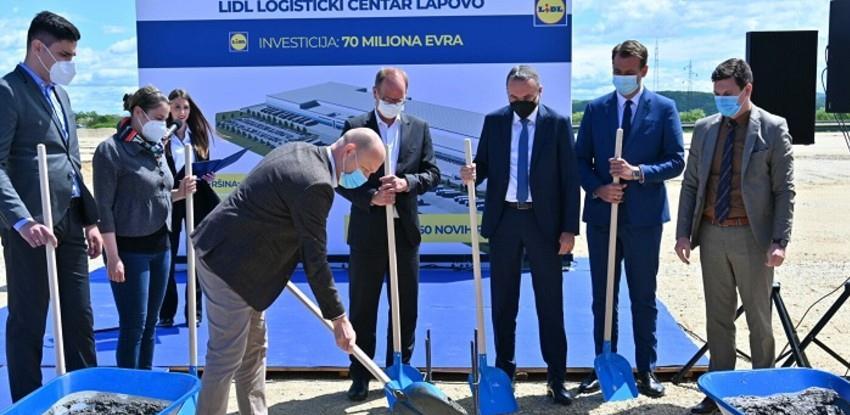 Lidl započeo gradnju logističkog centra u Lapovu