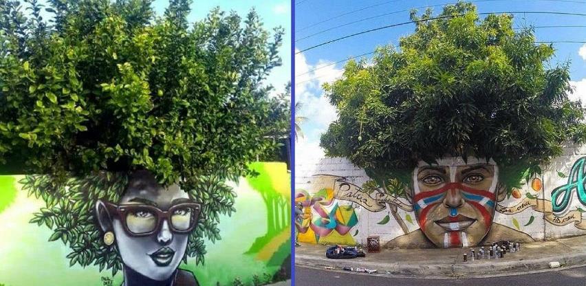 Biljke koje su inspirisale umjetnike i grafiti koji su oživjeli gradove