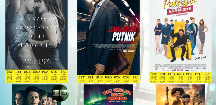 Nova filmska sedmica u Multiplex Ekranu Zenica