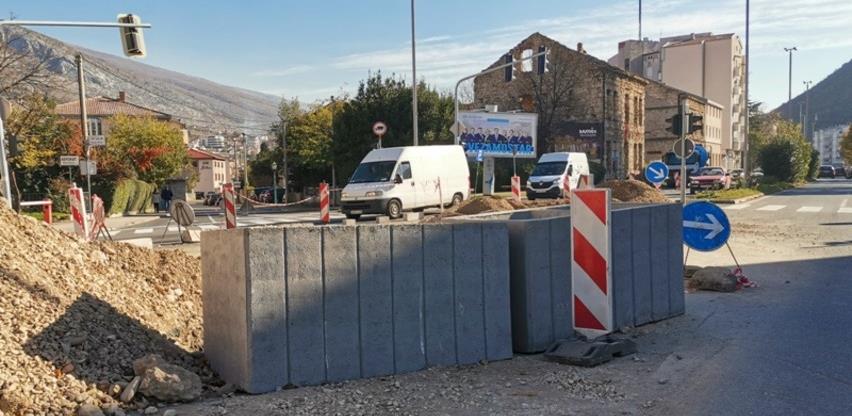 Nastavljeni radovi na rekonstrukciji starog odvodnog kanala u Mostaru