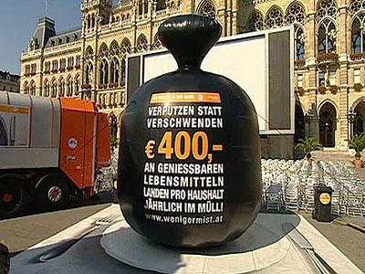 Beč pokrenuo kampanju za manje hrane u smeću