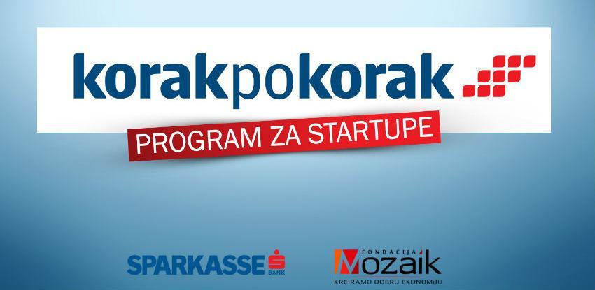 """""""Korak po korak"""" - Program podrške start-up kompanija za mlade poduzetnike"""