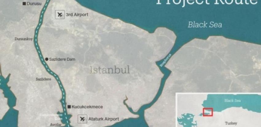Turska želi izgraditi novi plovni put - Istanbulski kanal