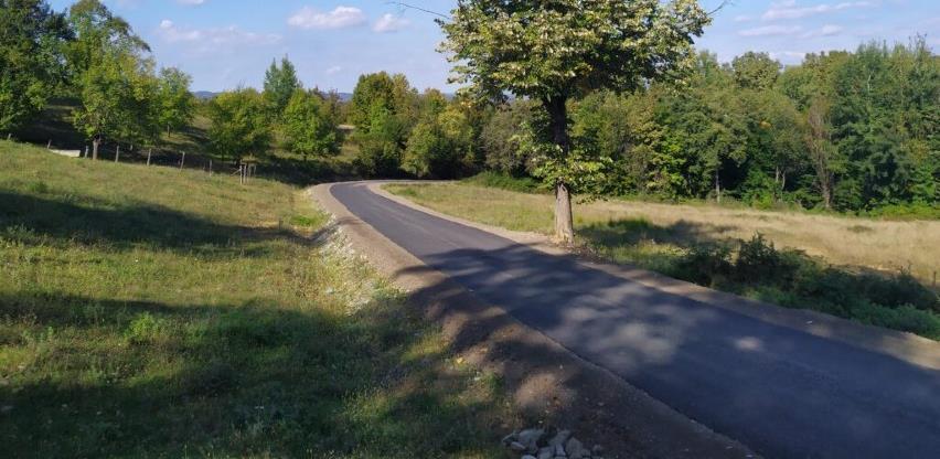 Puštena u saobraćaj novoasfaltirana dionica Grbavci-Gornji Podgradci