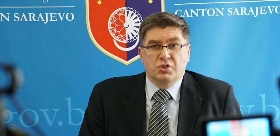 Kovačević izrazio zabrinutost zbog budućeg finansiranja Kantona Sarajevo