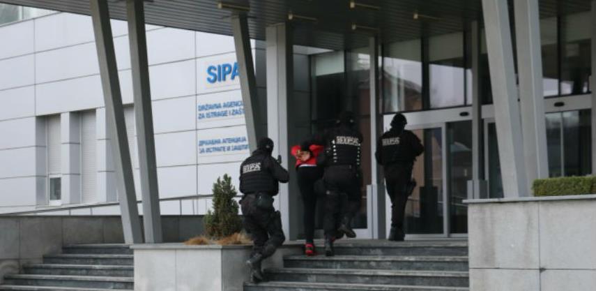 Akcija SIPA u Sarajevu, blokirano više od sedam miliona KM na računima