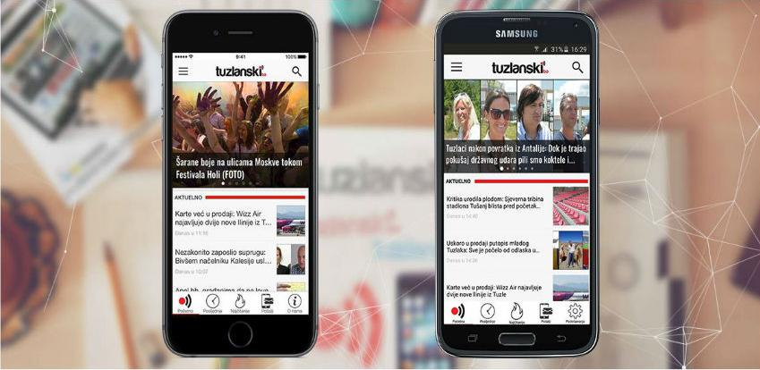Tuzlanski.ba još dostupniji sa aplikacijama za vaše iOS i Android uređaje