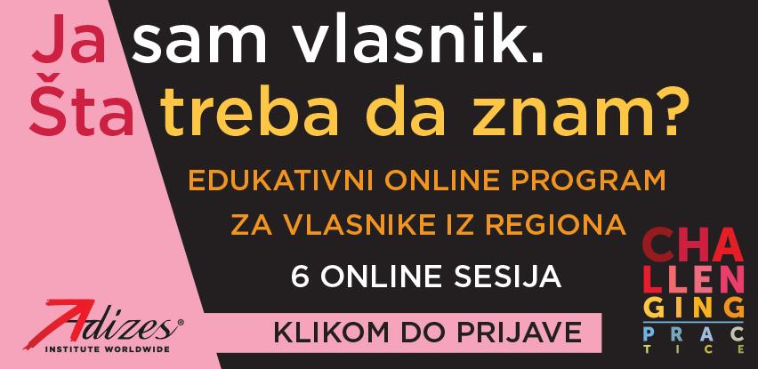 Edukativni program za vlasnike regiona: Ja sam vlasnik. Šta treba da znam?